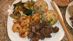 Easy Chicken Recipes, Shrimp Recipes, Beef Recipes, Griddle Recipes, Healthy Recipes, Night Dinner Recipes, Romantic Dinner Recipes, Dinner Ideas, Steak And Seafood