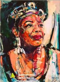 DR. MAYA ANGELOU*******Painting Source Unknown