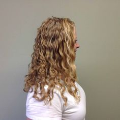 After a DevaCut, her curls have never looked better  #DevaCurl #Raleigh #hairdresser