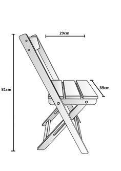 Conjunto de cadeiras dobráveis 2 peças   Adapt - Móveis Inteligentes