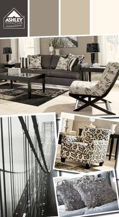 Love the grays and creams together! Akello Wall Art - Ashley Furniture HomeStore