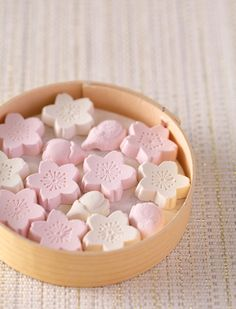 Japanese sweets for Hina Matsuri