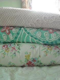 chenille bedspreads so feminine for a little girls room