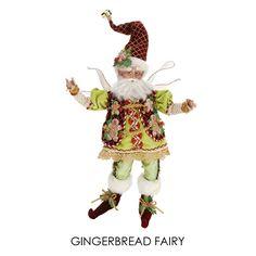 "Gingerbread Fairy, Med 16"", 51-27888 - $125"