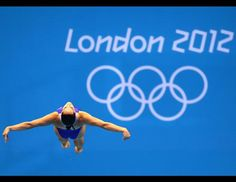 Christina Loukas of the United States competes in the Women's 3m Springboard Diving Semifinal on Day 8 of the London 2012 Olympic Games at the Aquatics Centre on Aug. 4, 2012 in London, England. (Al Bello/Getty Images)