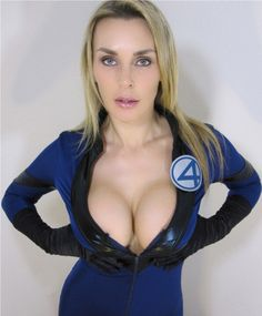 Cosplay Girl: Invisible Woman - Tanya Tate…