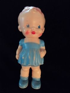 I have this Sun Rubber doll in addition to a boy, a pony, kitty, and doggie. They all squeak and I love 'em!