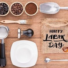 """Wishing everyone a Happy Labor Day! """"Labor Day an annual celebration of workers and their achievements originated during one of American labor historys most dismal chapters."""" http://ift.tt/1tPtzVs  #gloriajeanscoffee #gloriajeansnh #laborday #coffeeaddict #barista"""
