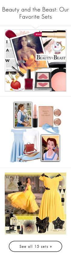 """""""Beauty and the Beast: Our Favorite Sets"""" by polyvore-editorial ❤ liked on Polyvore featuring BeautyandtheBeast, beauty, MAC Cosmetics, Bare Escentuals, Lipstick Queen, Bobbi Brown Cosmetics, Burberry, Clarins, Proenza Schouler and Boohoo"""