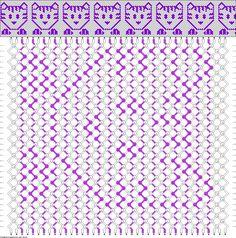 Friendship bracelet pattern 58073 40/2 kitty new