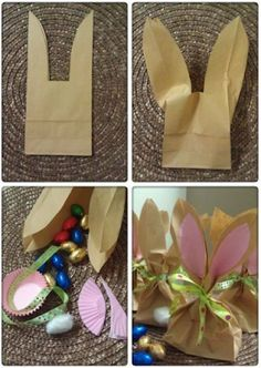 5 DIY Osterhasen Geschenkideen für Kleinkinder 5 DIY Easter Bunny Gift Ideas for Toddlers, with little help from parents to craft Easter bunny Easter gift favors. Easy Easter crafts for kids and schools. Hoppy Easter, Easter Bunny, Easter Eggs, Easter Food, Holiday Fun, Holiday Crafts, Halloween Crafts, Crafts For Kids, Diy Crafts
