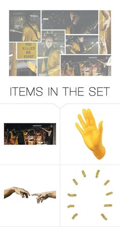 """""""+ all my friends are heathens > pt. 2"""" by cottoncandyprince ❤ liked on Polyvore featuring art, yellow, twentyonepilots, tylerjoseph, aesthetic and heathens"""