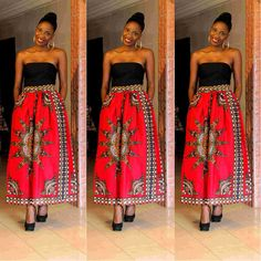 Bambui Skirt by THEAFRICANSHOP on Etsy, £40.00