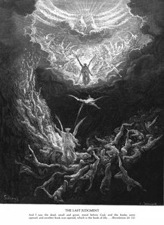 The Book of Revelation  Woodcuts by gustave Dore (1832-1883)