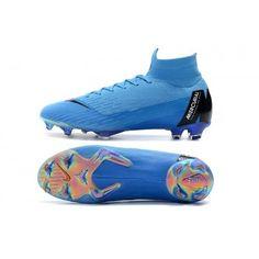 c80571cd9ed6 Exclusive Nike Mercurial Superfly VI 360 Elite FG Mens Football Boots -  Blue Black