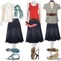 skirt outfits | Denim Skirts Outfits Ideas http://fashionzdesign.com/denim-skirts-2011-for-girls-women-celebrities.html/denim-skirts-outfits