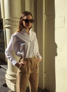 How to minimally style a neutral outfit