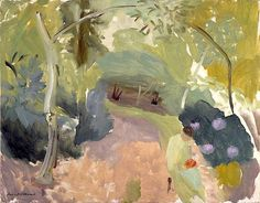 Sussex Landscape by Ivon Hitchens. Ooooooh @katelittlehouse xxxx