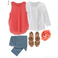 Casual Easter outfit via Stitch Fix. Your personal stylist hand picks 5 items just for you based on your style preferences!