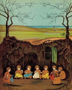 The Root Children illustrated by Sibylle von Olfers