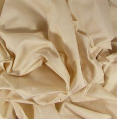 "Organic Cotton Sateen Fabric 113"" - Natural Color | Organic Cotton Plus"