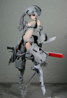 owner customized Frame Arms Girl 3d Figures, Action Figures, Perspective Drawing Lessons, Character Art, Character Design, Sci Fi Anime, Robots Characters, Frame Arms Girl, Spaceship Art