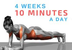 Complete the 30 Day Plank Challenge this month and get fit and healthy in only 30 days. The 30 day plank challenge is great for boosting core strength. Fitness Workouts, Fitness Motivation, Sport Fitness, Easy Workouts, Health Fitness, Plank Fitness, Fitness Legs, Core Workouts, Fitness Weightloss