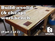 A Solid and Cheap 2x4 Workbench