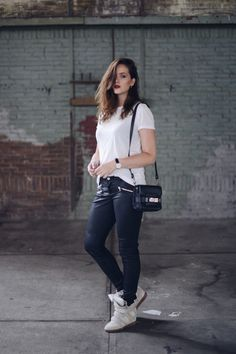 WhatsTrend Blog » NEW LEATHER | OOTD