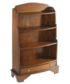 The beautifully crafted Mahogany Bow Front Bookcase is inspired by the distinctive Victorian period. The hand carved mahogany is of exceptionally high quality and has a polished antique finish. Add a touch of grandeur to your home with the Mahogany range. Slim Bookcase, Bookcases For Sale, Mahogany Bookcase, Black Bookcase, Large Bookcase, White Display Cabinet, Display Cabinets, Corner Display Unit, 21st Century Homes