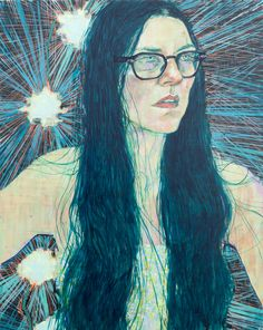 Study of Lina for Drums 2015 Acrylic on canvas on panel 30 x 24 in. Painting People, Figure Painting, Painting Inspiration, Art Inspo, Hope Gangloff, Bachelor Of Fine Arts, Contemporary Art, Illustration Art, Poster