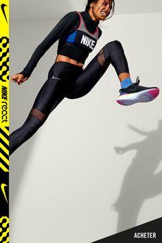 various colors b76ed ca34b Découvrez la nouvelle Nike Epic React Flyknit 2, ultra-souple et dynamique.  Mode