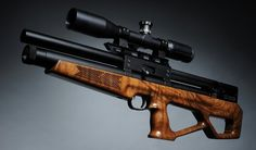 The new Airgun Technology Vulcan Bullpup air rifle.