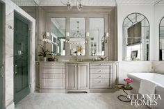 Design by Design Galleria Kitchen & Bath Studio | Photography by Erica George Dines | 2012 Decorators' Show House & Gardens | Atlanta Homes & Lifestyles |
