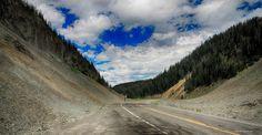 Sylvan Pass, Yellowstone, Wyoming on US highway 14