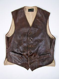 #Vintage #Mens Vest Waistcoat, Navy, Ernest Hemingway Early 1930's