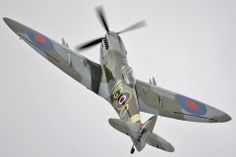 Supermarine Spitfire Mk.XVI   Appears to be armed with 4x 20mm cannon, which is rare.