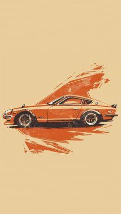 New vintage cars wallpaper automotive art ideas Auto Illustration, Car Animation, Cool Car Drawings, Automotive Art, Automotive Group, Car Posters, Car Sketch, Cute Cars, Car Painting