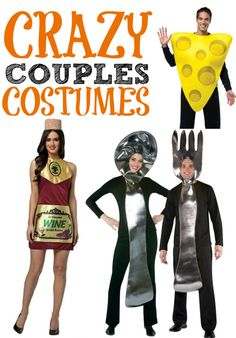 Need a silly idea for Halloween? Pair up with a friend to wear one of these seriously cheesy couples Halloween costumes. Will you be the cheese to my wine?
