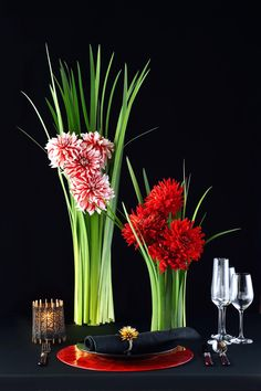 # Vress et Rose # Wedding #japanese # Guest table # table # Flower # Bridal #Vintage # ブレスエットロゼ #ウエディング# 和風 #和装 #ダリア# ゲストテーブル #テーブル # 花#テーブルコーディネート# ダリア#ブライダル#結婚式