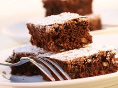 Swiss Dark Chocolate and Espresso Brownies (R)