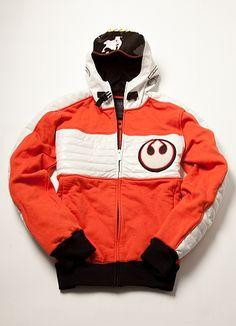 Marc Ecko Star Wars Rebel X-Wing Pilot Hoodie