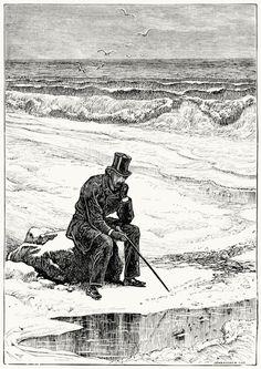Illustration from Poems of Paul Hamilton Hayne (1882) by Paul Hamilton Hayne (1830-86)