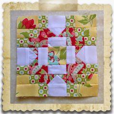 Threadbare Creations: Chatelaine- Free BOW Sampler Quilt Block 23
