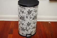 12 Cool DIY Trash Can Makeovers | Shelterness