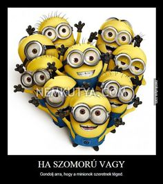 Heres a poster of the minions! So cute! Despicable Me Minion Wallpaper Amor Minions, Cute Minions, Minions Quotes, Funny Minion, Happy Minions, Despicable Me Party, Minions Despicable Me, Minion Party, My Minion