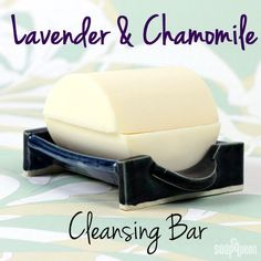 Lavender & Chamomile Cleansing Bar for Dry Skin