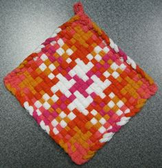 Turkish Delight Woven Potholder