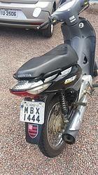 Em blitz na cidade de Rodeio polícia flagra motociclista com CNH falsa