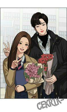 True beauty webtoon ❤❤❤❤❤❤❤ - Jennifer R. Cartoon Kunst, Cartoon Art, Comic Character, Character Design, Handsome Anime Guys, Webtoon Comics, Anime Love Couple, Manga Love, Anime Art Girl